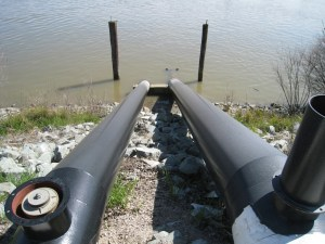 Delta irrigation intake #2 Mar 2009