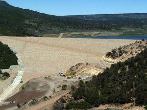 Ridges Basin Dam, Animas-La Plata Project Photo by Bureau of Reclamation