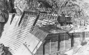 Hetch Hetchy Dam Construction 2