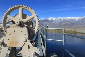 Los Angeles Aqueduct intake, Owens Valley. Photo by Chris Austin. All rights reserved.