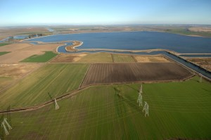 Clifton Court Forebay  provides storage and regulation of flows into the State Water Project's Banks Delta Pumping Plant