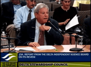 Dr. Vince Resh, Delta Independent Science Board