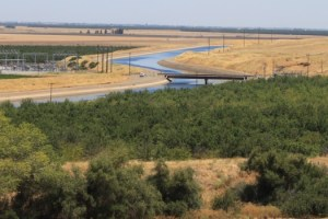 California Aqueduct through the Central Valley June 2015 #1