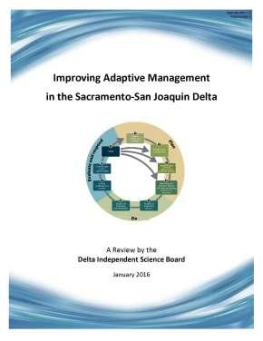 DISB Adaptive Management Report