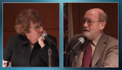 Senator Wolk and John Laird