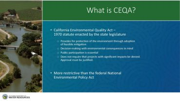 CEQA Info slide