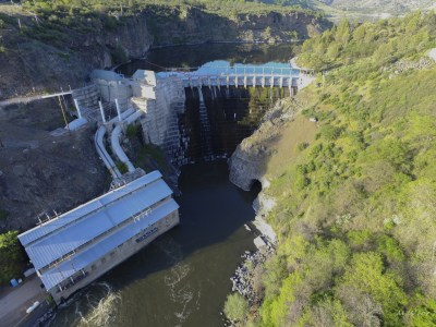 Photo of Copco 1, one of the four Klamath Dams slated for removal