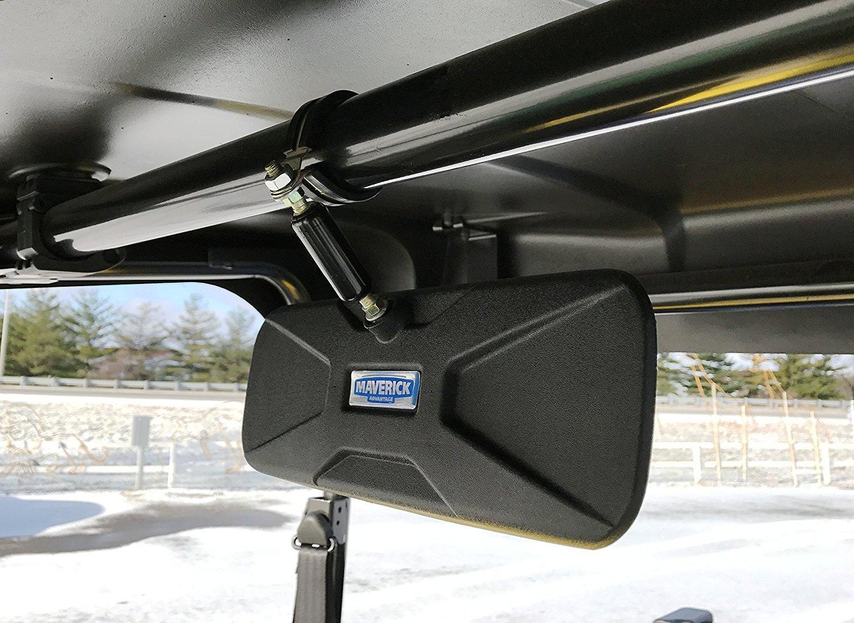 Deluxe Rear View Mirror Fits Kawasaki Mule 610