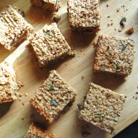 Healthy Banana Coconut Flapjacks