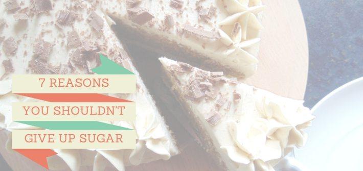 give up sugar