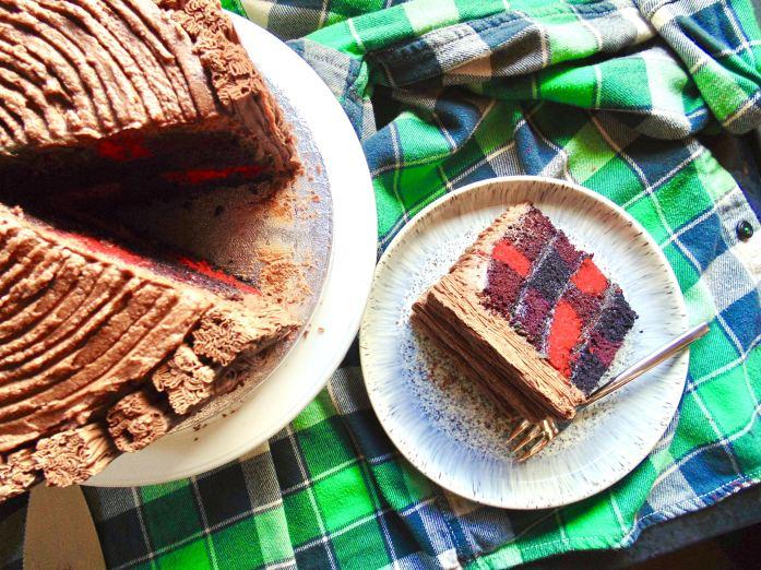 How to Make the Lumberjack Cake!