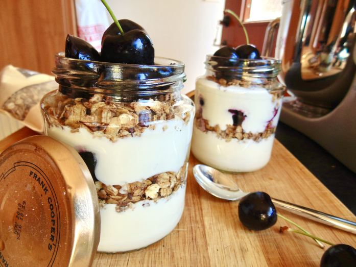 black forest breakfast jars