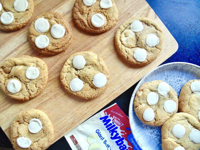 milky bar cookies