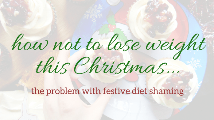 how not to lose weight this Christmas
