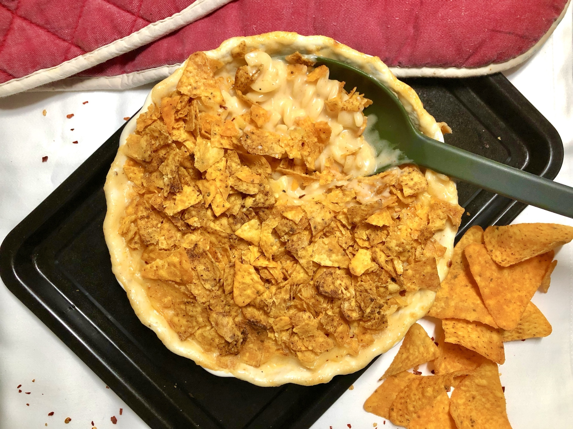 Hot Doritos Mac & Cheese