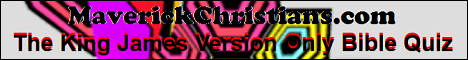 The King James Version Only Bible Quiz
