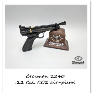 Crosman 2240 CO2 Powered, Bolt-Action Single Shot Air Pistol