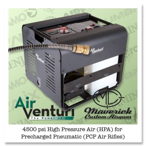 Air Venturi HPA Compressor, 4500 PSI/310 Bar, 110V