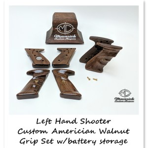 Left Hand Sportsmen American Walnut Grip Set