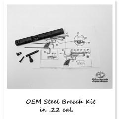 Original Crosman Steel Breech Kit w/instructions
