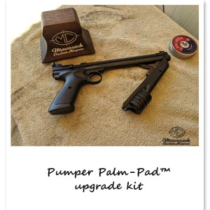 Crosman 1377, 1322, 1300KT series Pumper Palm-Pad™ complete.
