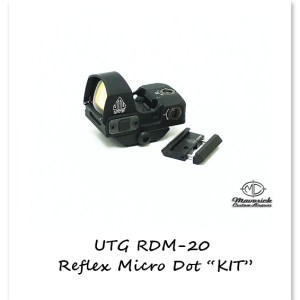 Reflex Micro-4 MOA Single Red Dot for your Crosman's and Benjamin's Airgun