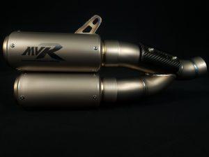 Monster 821/1200/S Titanium slip on