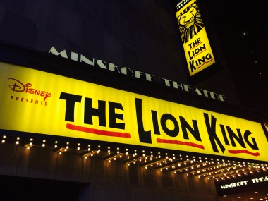 The Lion King, Minskoff Theatre