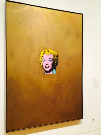 Gold Marilyn Monroe, Andy Warhol