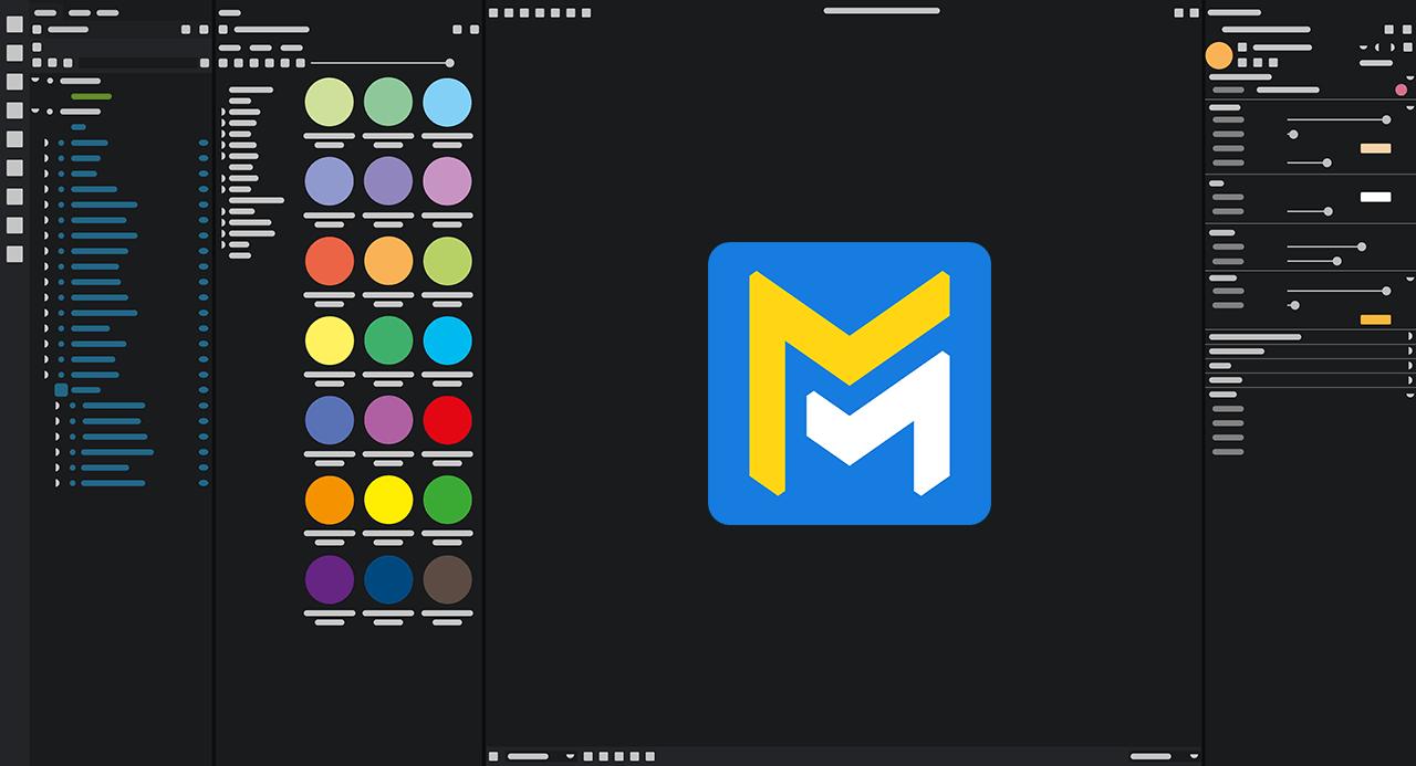 Maverick Indie UI mockup