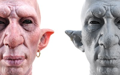 Displacement from ZBrush