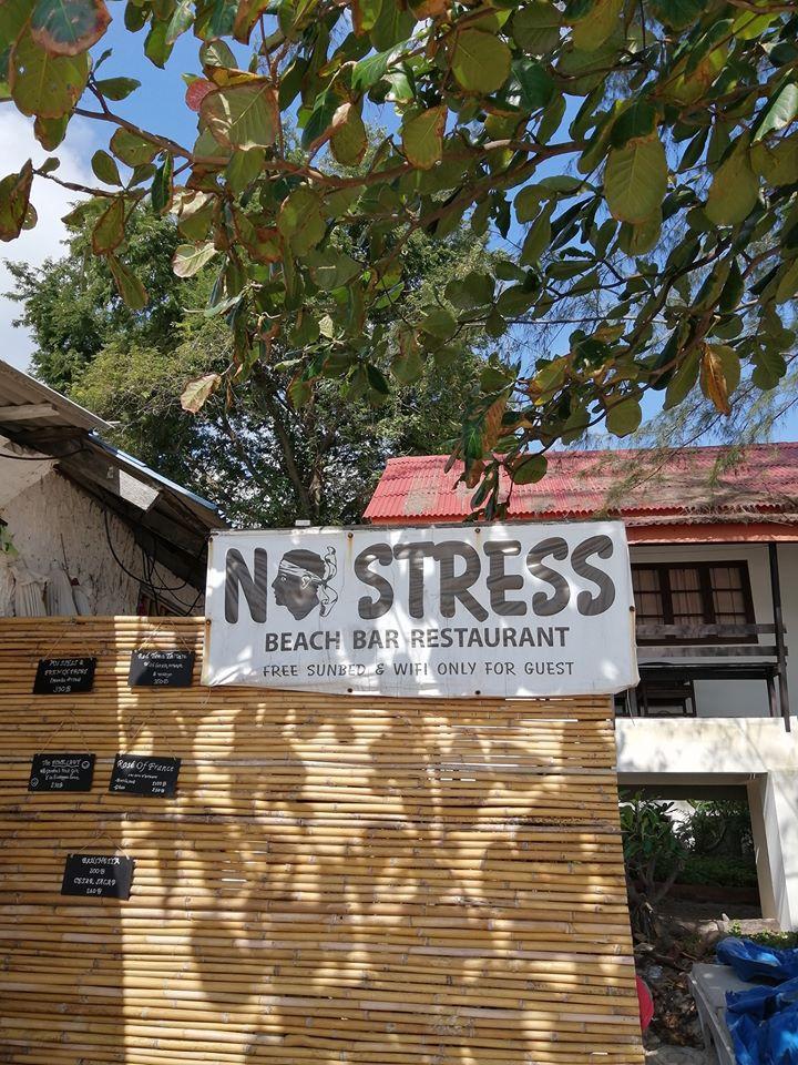 No Stress Restaurant bar de plage a Lamai beach