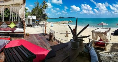 Terrasse de La Bohemia Beach Lounge a Lamai Beach