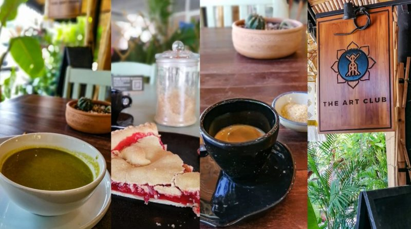 Banniere The Art Club restaurant vegetarien et vegan a Koh Samui