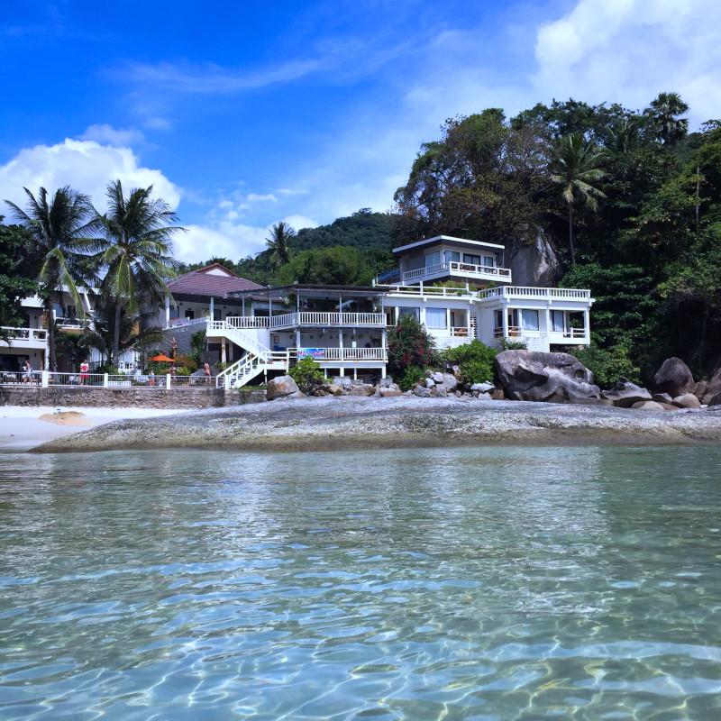 Crystal Bay, plage de Silver Beach à Lamai (Koh Samui, Thailande).