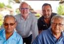 Rencontre avec Claude Bauchet, Dominique Bienfait, Hubert J. Leduck et Christophe Thiollet a la Bohemia