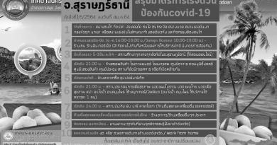 Ordonnance decret 2564 Covid-19 du 4 janvier 2021 a Koh Samui