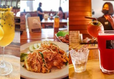 Cocktails Healthy bon pour la sante avec des fruits frais chez DARA a Koh Samui