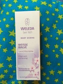 Weleda crème visage à la mauve blanche (produit offert)