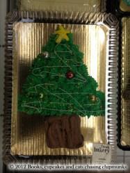 Gâteau en sapin de Noël