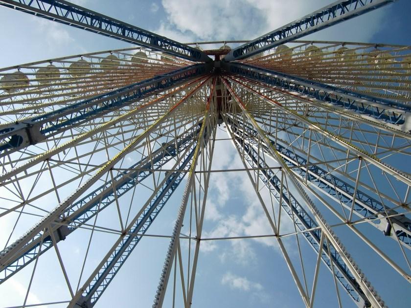 roue technologie ciel
