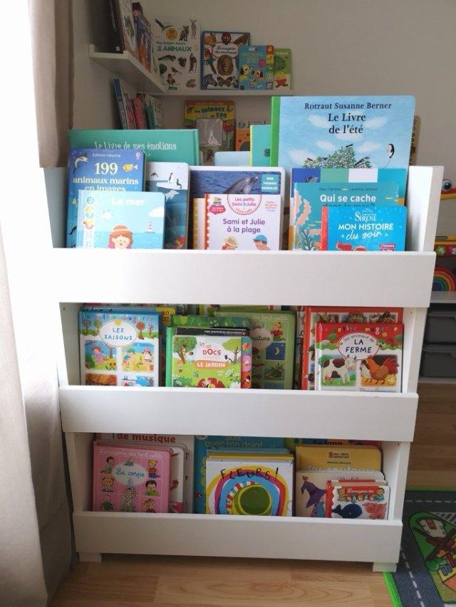 tutoriel bibliotheque enfant ma vie