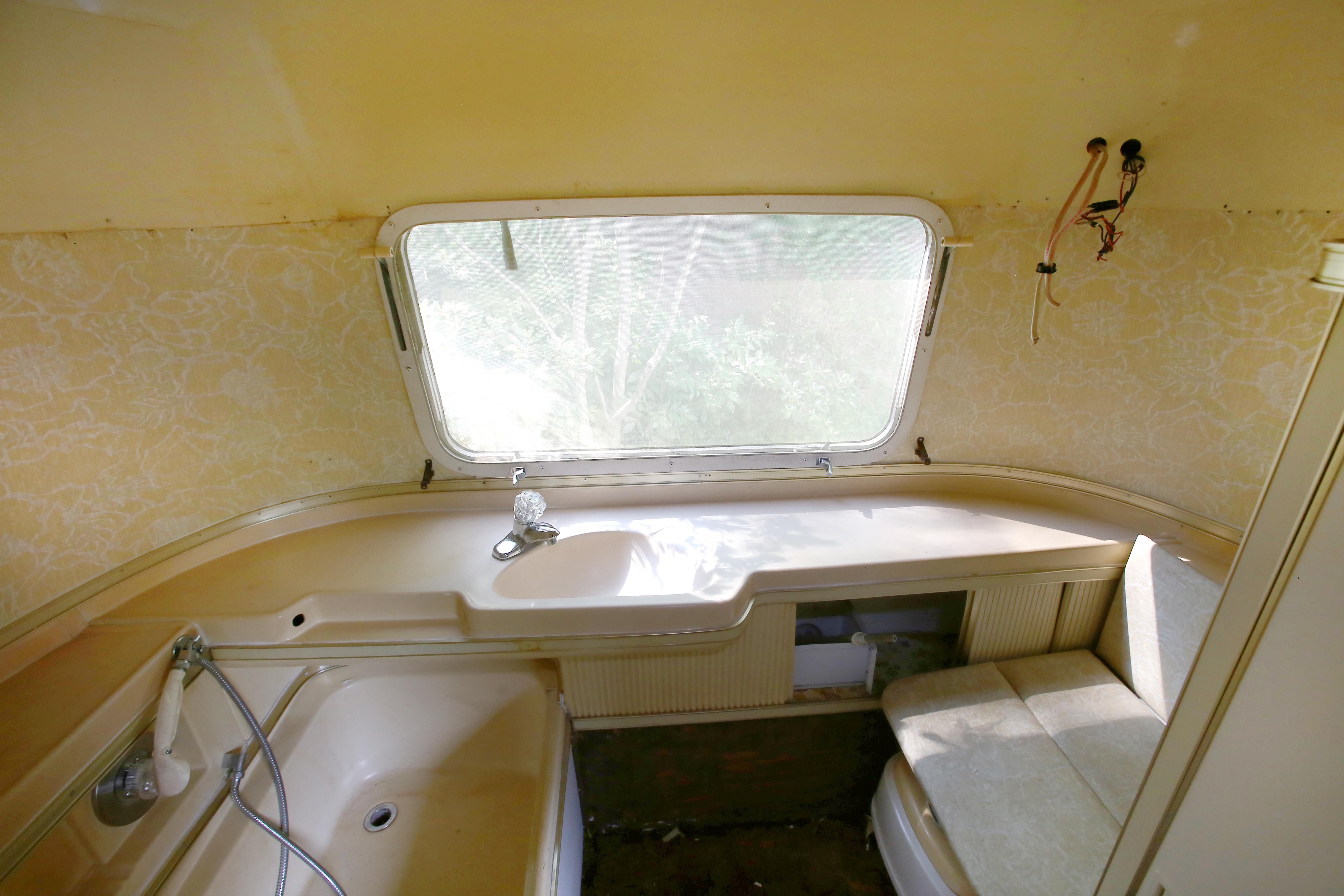 Airstream Bathroom Remodel Before After Mavis The