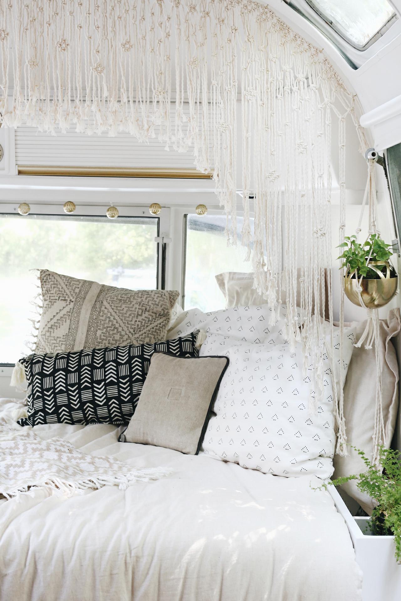 Vintage Airstream Bedroom Remodel