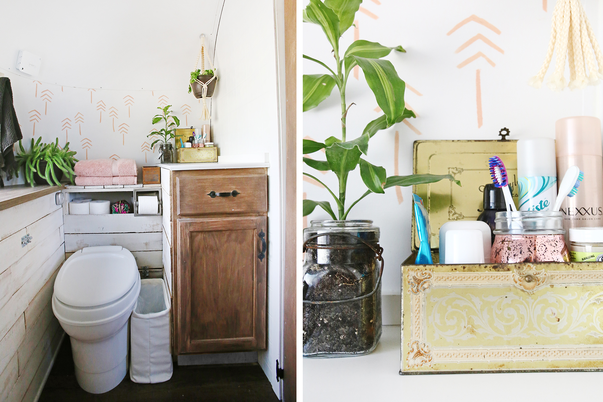 airstream bathroom remodel | before & after – mavis the airstream