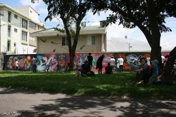 Mural tributo a Egon – Parque Isla Tortuga