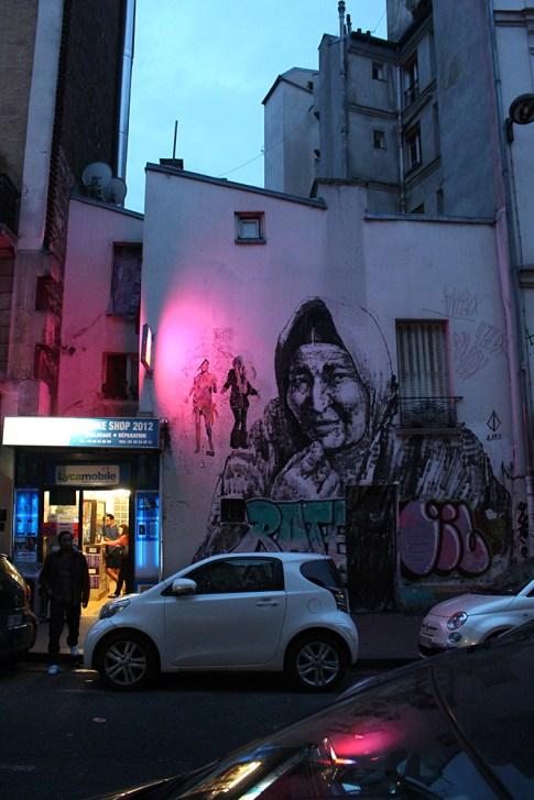 ALANIZ. Alrededores Boulevard Richard Lenoir, Paris, Francia.