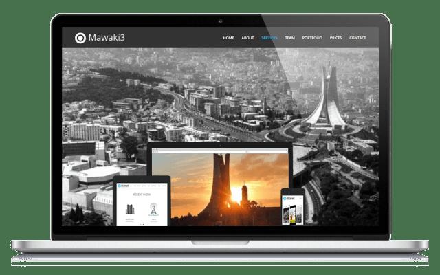 Création de sites web Algérie