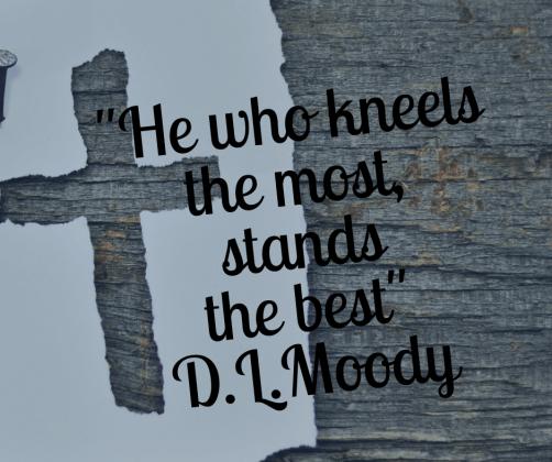 D.L. Moody wisdom quote