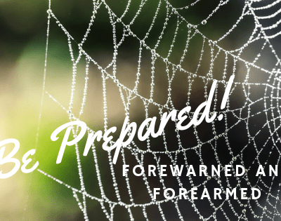 To Be Forewarned is to be Forearmed – Be Prepared for the Trap